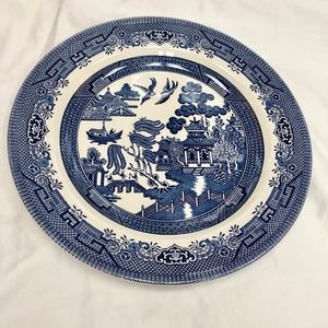 "Churchill England ""Willow"" Plate"